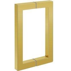 17 cm Handle for Glass Door / Brass Polish