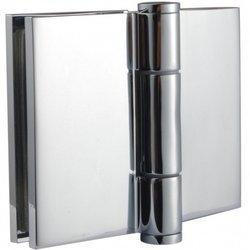 Glass-Glass Screen Hinge / Polish, Satin
