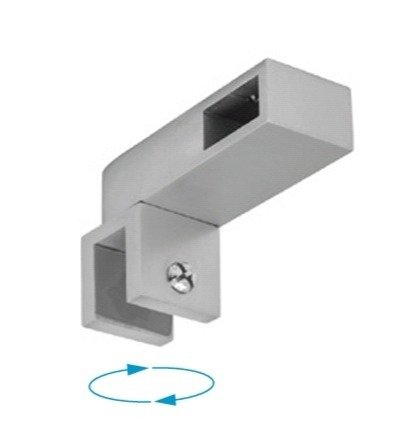 10x20  Movable T Support for Side Wall / Satin, Polish