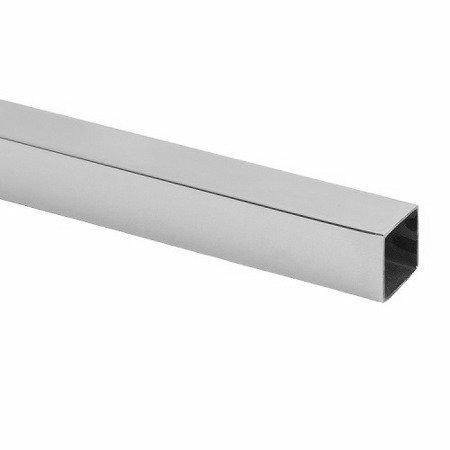 15 mm Square Support Bar / Satin, Polish