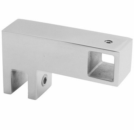 15 mm Square  Support for Side Wall / Satin, Polish