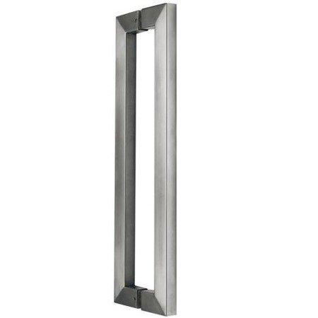 Glass Door Handle / Satin, L=1200 mm