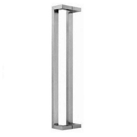 Glass Door Handle,/Satin, L=775 mm