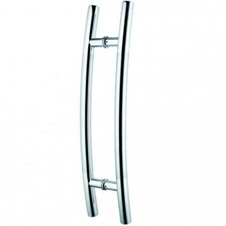 Glass Door Handle,/Satin, L=800 mm
