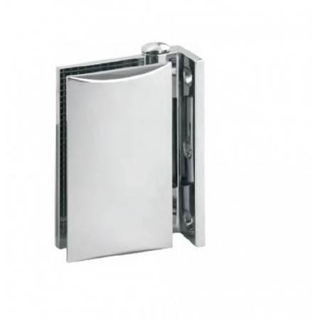 Glass Door Hinge  / Wall-Glass/ Chrome Polish