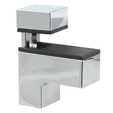Glass Shelf Holder with regulation / Satin, Polish