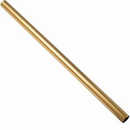 Ø 19 mm Railing bar L=1m / Brass Polish