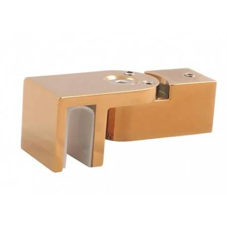 Square 15 mm Ajustable Support / Gold Finishing